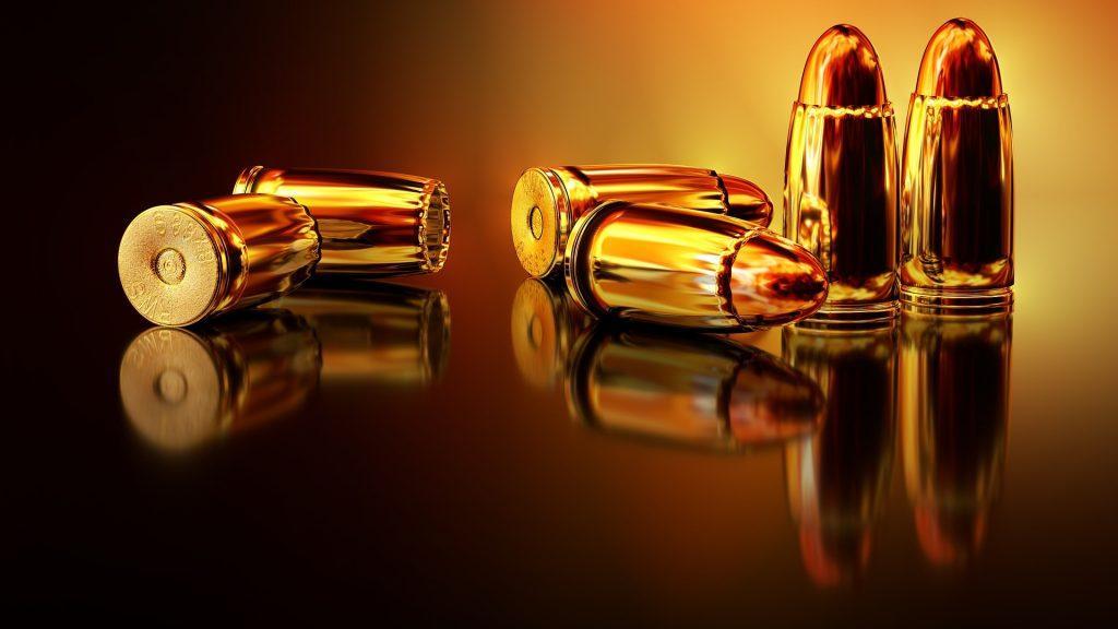 kilka sztuk amunicji